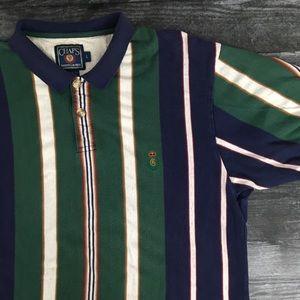 1990s Chaps Ralph Lauren Striped Polo